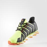 adidas 阿迪达斯 跑步 男大童 儿童鞋 亮黄荧光 B54184