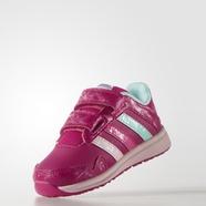adidas 阿迪达斯 跑步 女婴童 鞋 荧光玫红 S81868