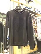 马克华菲2016专柜代购秋长袖图案圆领针织衫
