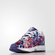 adidas 阿迪达斯 三叶草 女婴童 ZX FLUX 经典鞋 学院紫 S76315