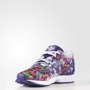 adidas 阿迪达斯 三叶草 女大童 ZX FLUX 经典鞋 紫 S76286