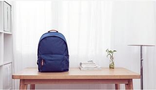 小米官方旗舰店正品学院风帆布双肩包学生背包旅行背包电脑包书包