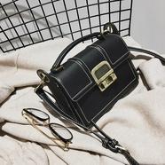 【南风】锁扣小方包新款欧美单肩包复古锁扣手提斜跨女包潮