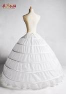 六骨大裙撑 蓬蓬公主婚纱裙撑配饰 新娘结婚配件