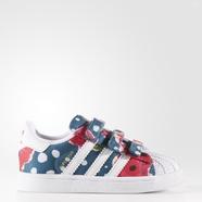 adidas 阿迪达斯 三叶草 女婴童 SUPERSTAR 经典鞋 S80152