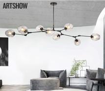Линдси постмодернистская минималистская атмосфера гостиной лампа