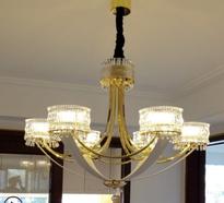 Anxiu living room restaurant Европейская роскошная хрустальная лампа