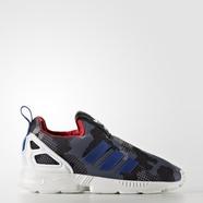 adidas 阿迪达斯 三叶草 男婴童 ZX FLUX 经典鞋 1号黑色 S32122