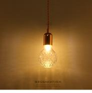 Постмодернистский хрустальный колба, круглая творческая лампа