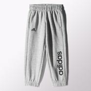 adidas 阿迪达斯 训练 男大童 针织长裤 中麻灰 S23208